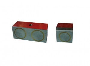 AlNiCo Magnet Block Steel Pot