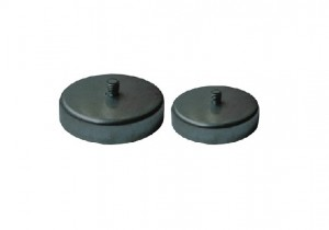 NdFeB Flat Pot Magnet with Thread